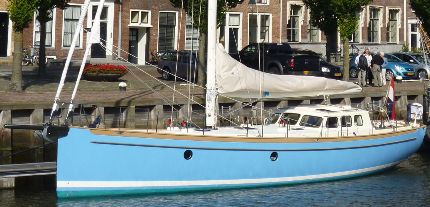 bestevaers and bestewinds at km yachtbuilders open day
